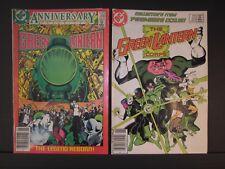 Green Lantern Anniversary Issue #200 May 1986,Green Lantern Corps #201 premier