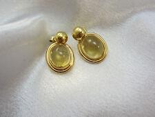 Super schöne Ohrringe aus Gold 585 mit Citrinen