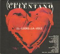 CD Adriano Celentano Il Cuore, La Voce Clan Celentano CLN 20502 ITALY 2001