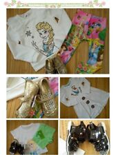 NICE 100% NEW FROZEN PRINCESS bundle girl 2/3 yrs TOPS LEGGINS DRESSES( 2.7)