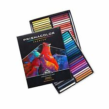 Prismacolor 27055 Premier NuPastel Firm Pastel Color Sticks, 96-Count