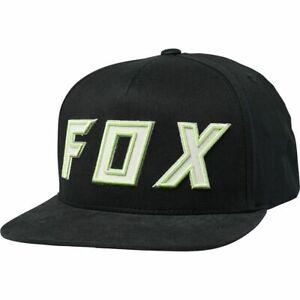 Fox Racing Black Posessed Snap Back Hat