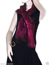 Etole/foulard/chale en organza, idéal avec robe de soirée VIOLET foncé