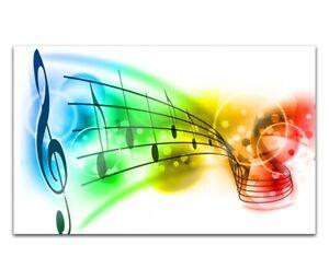 Acrylglasbilder 80cm Musik Noten Acrylbild Acrylglas Wand Bild 14H581