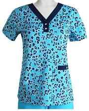 {XS} Women's Medical Uniform Barco NRG Haven 3 Pocket V-Neck Scrub Top