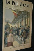 Le petit journal Supplément illustré N°479 / 21-1-1900 / Déroulède en Belgique