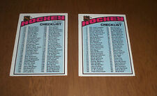 1976 - 77 TOPPS HOCKEY CARD CHECKLIST - UNMARKED - YOUR CHOICE $5