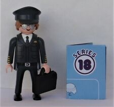 Playmobil Mystery Series 18 Boys  Airline Pilot    #70369  New  2020