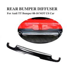 Rear Bumper Diffuser Lower Lip Fit for Audi TT Non-Sline Non-TTS 2008-2010