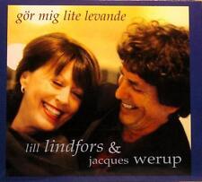 LILL LINDFORS WERUP Gor Gör Mig Lite Levande Gazell GAFCD-1069 2004 Digipak CD