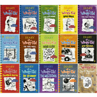Diary of a Wimpy Kid 15 Books Collection Set by Jeff Kinney Do-It-Yourself NEW