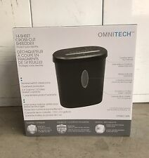 Omnitech 14-Sheet Cross-Cut Shredder OT-NXC14PA-CC - NEW IN BOX!!