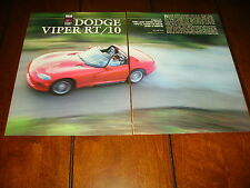 1992 DODGE VIPER RT/10  ***ORIGINAL ARTICLE / SPECIFICATIONS***