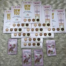New x TOO FACED Tutti Frutti Dew You Foundation Samples 48 Total Samples