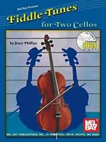 MEL BAY FIDDLE TUNES FOR TWO CELLOS By Stacy Phillips *Excellent Condition*