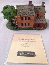 Hawthorne Architectural Register White Horse Inn 78562 Porcelain Figurine