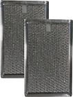 2-Pack Air Filter Factory for Frigidaire 5303319568 Microwave Oven Aluminum Grea photo