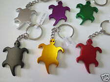 Lot of 6 pc Turtle Key Chain / Bottle Opener / New Free Shipping
