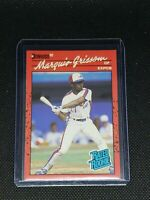 1990 Donruss Baseball MARQUIS GRISSOM RC #36 Montreal Expos ROOKIE CARD MINT