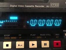 PANASONIC AJ-D230P DCVPRO DIGITAL VIDEO CASSETTE RECORDER - LOWER PRICE!