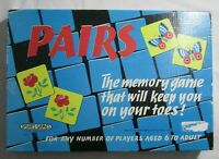 Vintage 1950's PAIRS Game By Spears Games Matching Pairs Game Rare 100% Complete