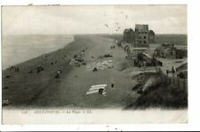CPA-Carte Postale-FRANCE- Ault-Onival- La Plage en 1908 VM7092