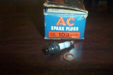 8 NOS CADILLAC,LASALLE 1939-48, W/ V-8,V-16 AC SPARK PLUGS #103