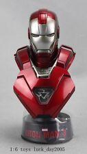 Hot Toys Iron Man 3: Silver Centurion (Mark XXXII MK 33) 1/6 LED Light Bust