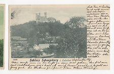 Germany, Schloss Schaumburg i Lahnthal 1900 Postcard, A594