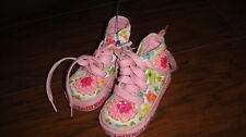 LELLI KELLY SZ 21 US 5 TODDLER BEADED FLORAL SHOES