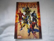 Marvel The List Graphic Novel TPB Spider-Man, Punisher, Wolverine, Daredevil CR