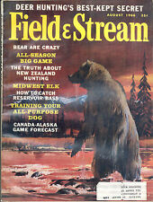 8/1966 Field and Stream Magazine