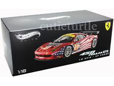 Hot Wheels Elite Ferrari 458 Italia GT2 LM 2012 AF Corse Sebring 1:18 #61 BCT78