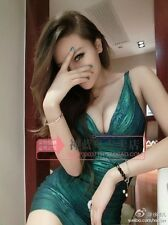 Deep V Sexy Bandage Bodycon Cocktail Dress Color Green Size XS S M L