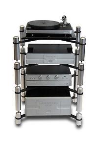 Extrema Evolution X14 4 Shelf Modular Ultra Durable Stereo HiFi Audio Rack