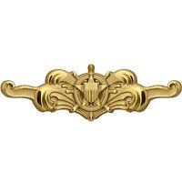 "USCG US Coast Guard Badge Regulation Cutterman Officer 2 1/2"" Long (Made in USA)"