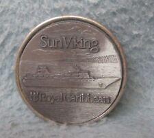Royal Caribbean Sun Viking Cruise Ship Cruiseship Metal Magnet Refrigerator