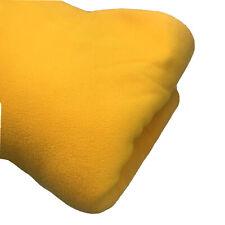 Orange Microfiber Flannel Fleece Plush Blanket Lightweight Soft Twin 60 x 80 In