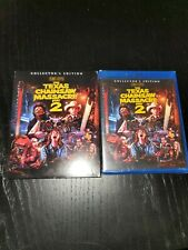 The Texas Chainsaw Massacre 2 Blu Ray Scream Factory Collectors With Slipcover