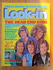 LOOK IN MAGAZINE 13 August 1977 Barry Sheene Dead End Kids Kevin Tighe