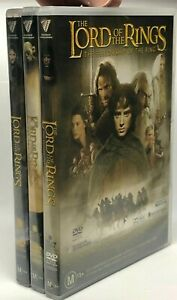 The Lord of the Rings - 3 DVD Pack - AusPost with Tracking