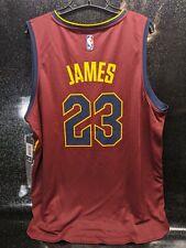 NWT Fanatics FastBreak Cleveland Cavs NBA LeBron James #23 Red Away Jersey Sz XL
