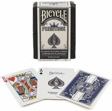 Bicycle® Prestige Blue 100% Plastic Playing Cards, USPCC