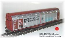 Märklin Wagon Avec Parroi Coulissant Série Limitée Hewlett Packard Viridia