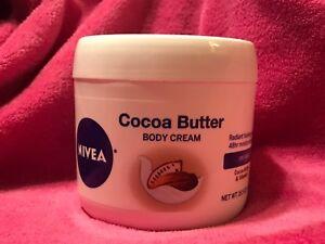 NIVEA Cocoa Butter Body Cream Skins Hydrate Radiant Vitamin E 48 Hours