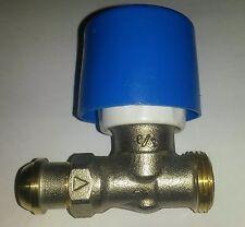 """SAR - Robinet droit radiateur 3/8"""" Simple réglage *NEUF*"""
