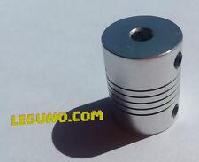 2 x coupleur flexible 5x5mm - 2 flexible Shaft coupler 5x5mm 3D printer