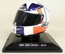 Altaya 1/5 Scale - Ben Spies 2010 HJC Moto GP Helmet with Plinth and Case