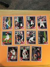 2018 Topps Big League Cleveland Indians Base Team Set 11 Cards