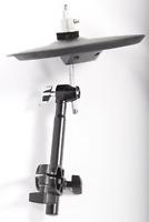 "Roland CY-5 + Black 20cm Cymbal Mount - 10"" Electronic Dual Trigger Hi-Hat Pad"